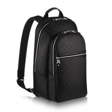 Мужской брендовый кожаный рюкзак Louis Vuitton MICHAEL Черный