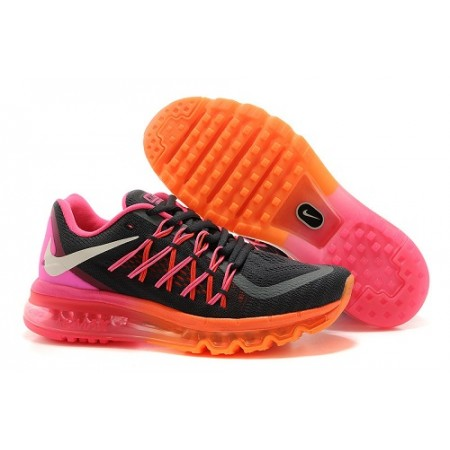 Кроссовки Nike Air Max 2015 Grey/Pink/Orange