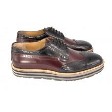 Ботинки Prada Oxford Broun/Black
