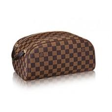 Мужской брендовый кожаный несессер Louis Vuitton King Size