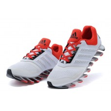 Мужские беговые кроссовки Adidas SpringBlade White/Red
