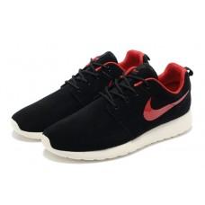 "Кроссовки Nike ""Roshe Run"" Black/Red/White со скидкой"