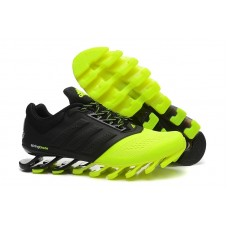 Кроссовки беговые Adidas SpringBlade Black/Green