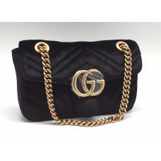 Женская сумка Gucci черная