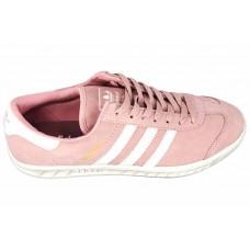 Женские замшевые кеды Adidas Hamburg Light Pink