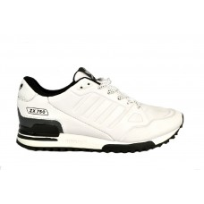 Мужские кожаные кроссовки ADIDAS ZX750 White Leather