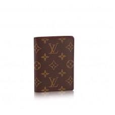 Чехол для паспорта Louis Vuitton Broun LV