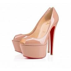 Женские туфли Christian Louboutin Grey II со скидкой