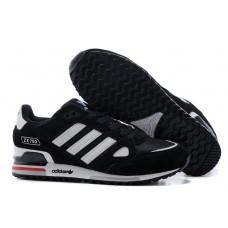 Мужские черные кроссовки ADIDAS ZX750 Black/White/Grey