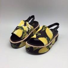 Босоножки Dolce&Gabbana Yellow