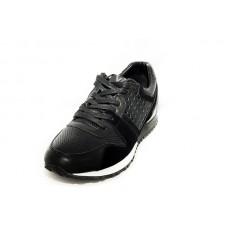 Мужские брендовые кроссовки Louis Vuitton Run Away Sneakers Black V
