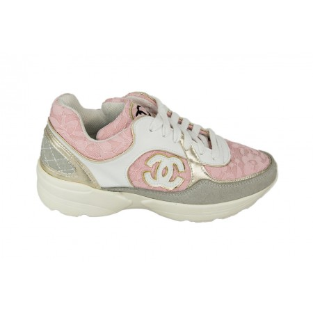 Chanel EX Pink/Grey