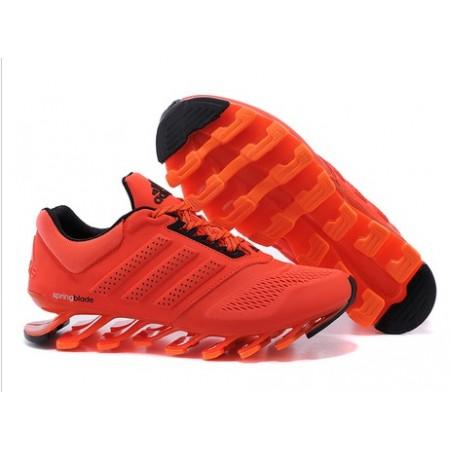 Мужские беговые кроссовки Adidas SpringBlade Orange/Black